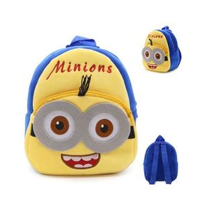Minion Bob Plush Backpack For Kindergarden Nursery Kids