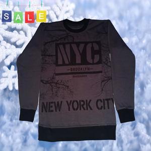 Men's winter printed sweatshirt