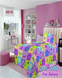 Single Bed Sheet Sd 01
