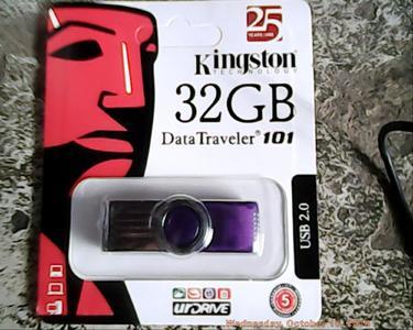 kingston 32 gb usb Data Traveler 101