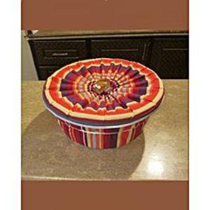 QUALITY PRODUCTSHot Pot Roti Basket ? Multicolor ? 3 Pcs