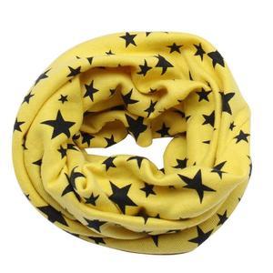 Fashion Kids Scarf Unisex Collar Neck Scarves Star Decoration Ring