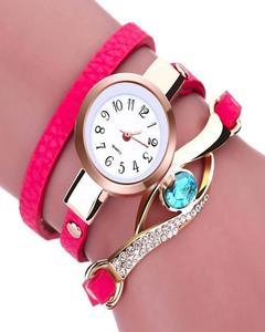 Multicolored  Gemstone Bracelet plus Watch For Women