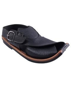 Mens Black Peshawari Sandal 9904