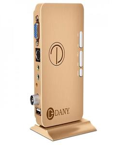 Dany HDTV-1000 TV Device (Golden)