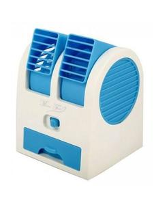 USB Air Conditioner Fan - Blue