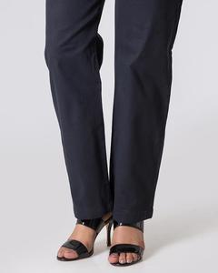 Bonanza Satrangi - Black Twill Trouser For Women - LTS-254-12