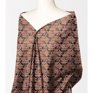 Alkaram studio Silver Collection Maroon Lawn 1PC Unstitched Suit For Women -A132222108
