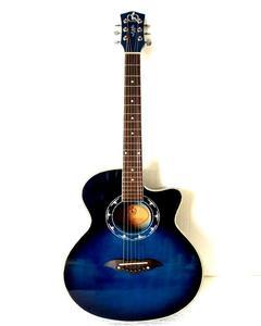 Lishion- 40'' Blue- Acoustic Guitar