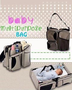 Baby Bag And Cot Multi Purpose