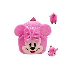 Minnie Plush Backpack For Kindergarden Nursery Kids