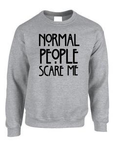 Grey Fleece Printed Sweatshirts For Women