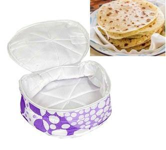 Roti Chapati Cotton Cover Basket - Assorted Colour