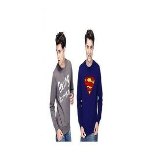Pack Of 2 - Multicolor Wool Sweatshirts For Men