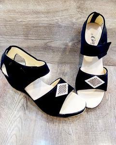 Stylish fancy Black Sandal LFW 59