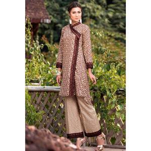 SITARA STUDIO Sapna Collection 2019 Multicolor Lawn 2PC Unstitched Suit For Women - 6124 C  (Un-stitched)