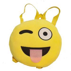 Emoticon Shoulder School Child Bag Backpack Satchel Rucksack Handbag