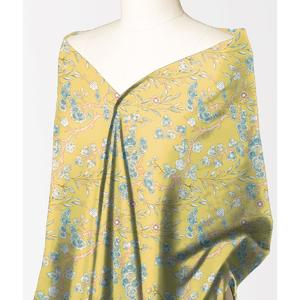 Alkaram Studio Silver Collection Mustard Lawn 1PC Unstitched Suit For Women -A132222100