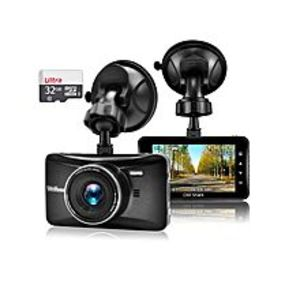 Shope Car Dash Cam with 32GB Card,Night Vision,Dashboard Camera Recorder