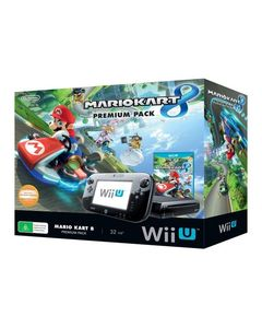 Nintendo  WII U with Mario Kart 8 – Pal – Black