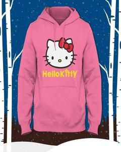 Pink Stylish Printed Hoodie for Women