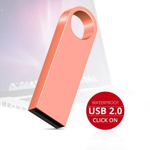Metal High Speed Memory Pendrive 128GB 64GB 32GB 16GB 8GB USB Flash Drive Memory Stick U Disk