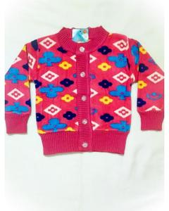 Winter Collection Little Star Sweater For Kids - Red