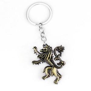 Game of thrones House Stark Lannister Targaryen Necklace Lion Pendant
