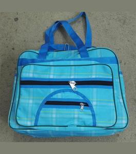 School, College and Travelling Bag For Girls - Sky Blue