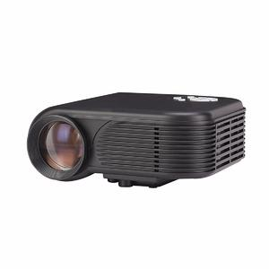 Mini Portable Full  HD 1080P LED Projector For Home Theater, PC Laptop Mobile Phone Video Games TV Beamer black