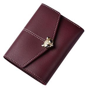 Happydeal Fashion Women Leather Wallet Clutch Purse Lady Short Handbag Bag