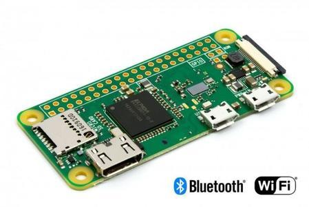 raspberry pi zero w builtin WiFi Bluetooth