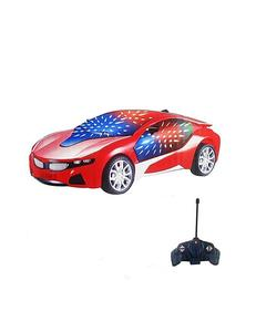 RC Car with Led lights - Red By HADYA (1) Variations