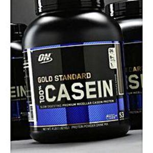 Optimum NutritionON WHEY Original GOLD STANDARD  100% CASEIN - 5Lbs