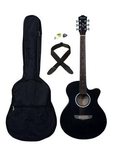 40'' Acoustic Guitar with Bag,Strap,Pics
