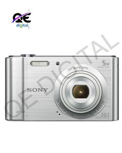 Cyber-Shot Dsc-W800 Digital Camera (Silver)