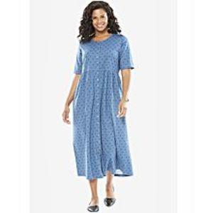 EssentialsBlue Maxi Dress For Women