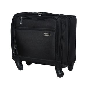Pierre Cardin Laptop Trolley Bag - Black