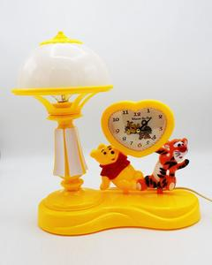 Cute Table Clock With Alarm and  Lamp