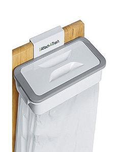 Hanging Trash Bag Holder,Cupboard Door Back Trash Rack Storage, Waste Bin,Kitchen Cabinet Garbage