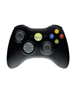 Xbox 360 Wireless Controller (for PC & Xbox360) - Black