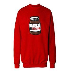 Red Printed Sweatshirts For Women