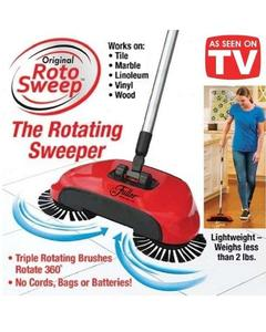 Sweep Drag All - In - One No Electricity Spin Broom Vacuum Cleaner 360 Sweep The Floor Machine