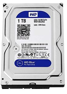 WD 1TB Sata Desktop Internal Hard Disk Drive 3.5 Inch 7200RPM