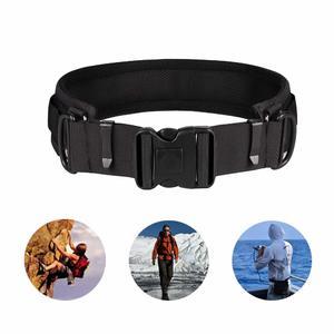 SOOJET Camera Waist Belt Multifunctional Adjustable Outdoors Utility Photography Camera Belt