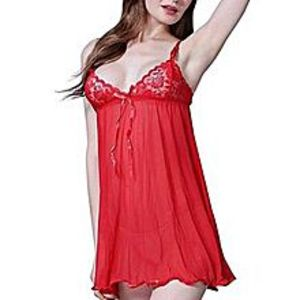 Muaz Collections Raaz Red Nighty For Women