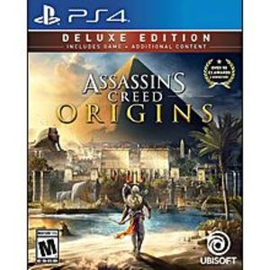 UbisoftAssassin's Creed Origins: Deluxe Edition - PlayStation 4