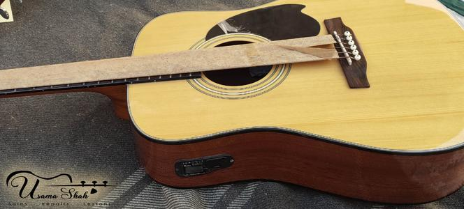 Monterey Branded - Semi Acoustic Jumbo Guitar Special Build (Real Pics Attached)
