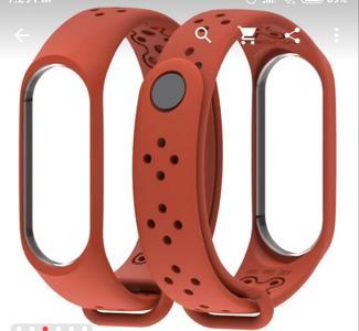 Xiaomi Mi Band 3 Strap - Red (Brand MiJobs)