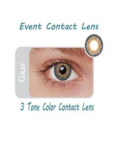 Event 3 Tone Contact Lenses - Gray